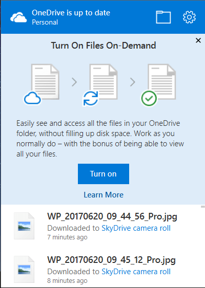 OneDrive - Getting the latest Insider updates - Files On-Demand 11
