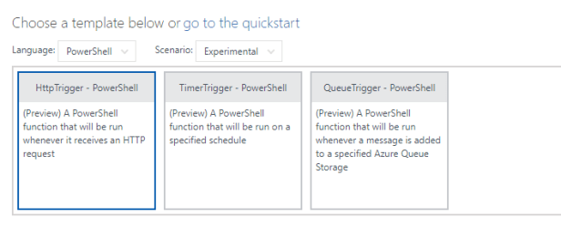 Azure Function Apps - SharePoint lists - Creating web hooks that run PowerShell triggered by item creation 2
