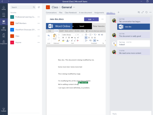 Microsoft Teams - Co-Authoring made easy 2