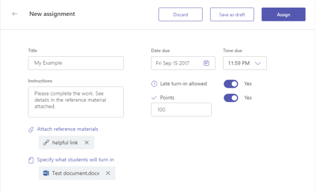Microsoft Teams - Assignments with guests 3