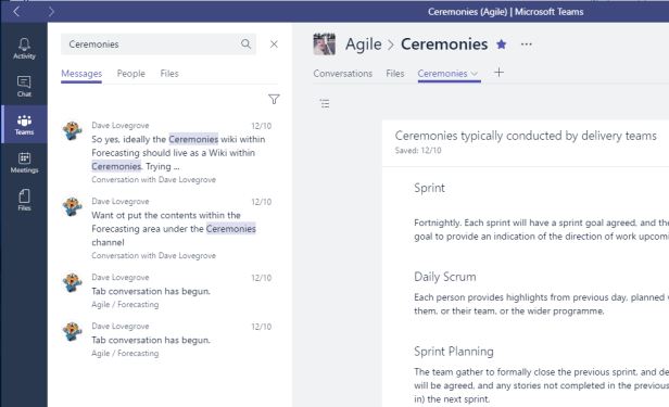 Microsoft Teams - Seek and ye shall not find? Microsoft 365, Microsoft Teams
