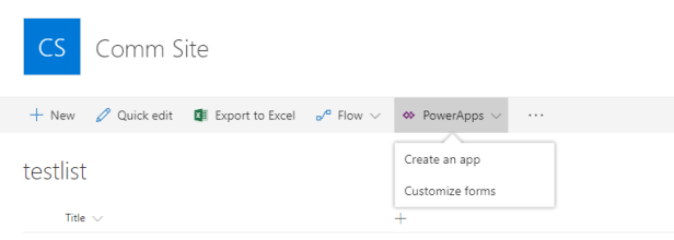 Office 365 - PowerApps is the new InfoPath, at last 1