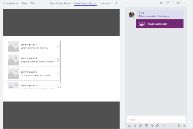 Microsoft Teams - Integration with Visual Studio Team Services using PowerApps. 3