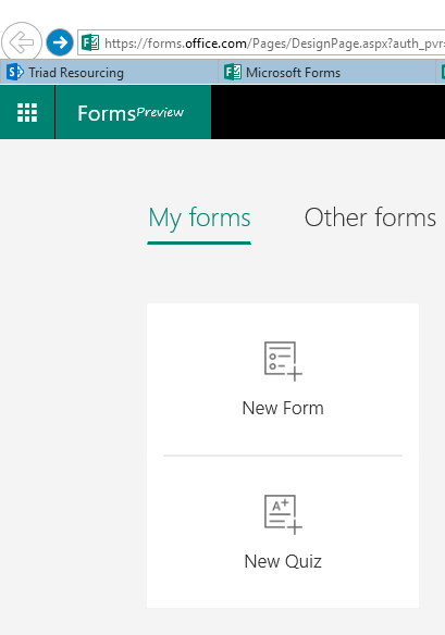 Microsoft Forms - Quizzes the full starters guide, create a quiz 1