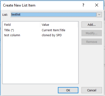 Migrate to Microsoft Flow from SharePoint Designer practical examples - part 1 - Clone list items 2