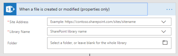 Triggers in Power Automate for SharePoint Online Microsoft 365, Microsoft Flow