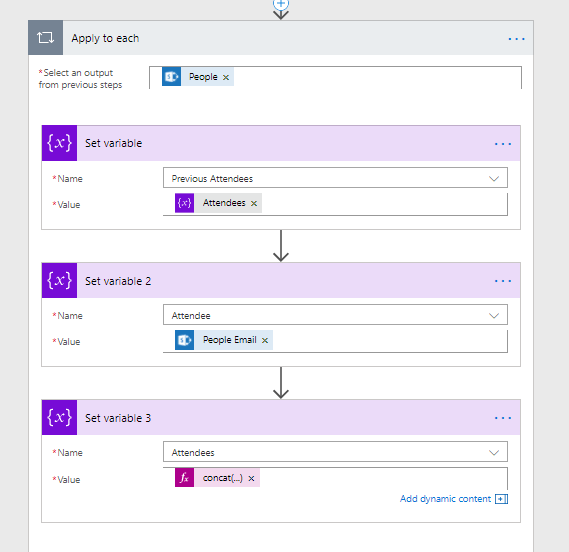 Microsoft Flow - The pains of SharePoint's multi-people fields 3