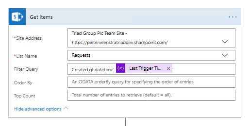 Microsoft Flow - Create a trigger on multiple lists! SharePoint Designer workflows can't do this! 4