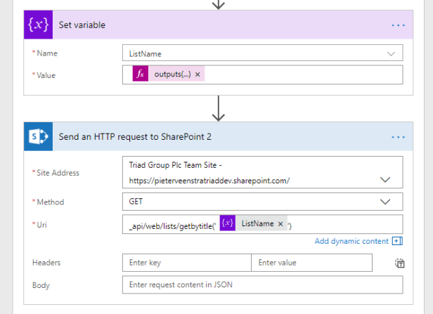 Using the REST API in Power Automate to get all lists in a SharePoint site Microsoft 365, Microsoft Flow, Microsoft SharePoint