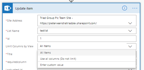 Microsoft Flow - Setting multi-people fields in SharePoint 3