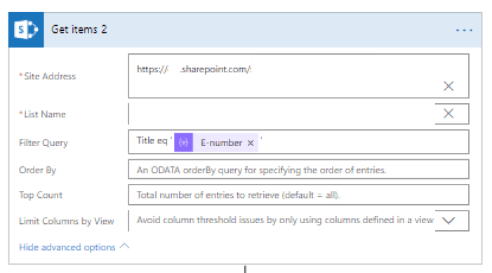 Getting SharePoint list items and filtering by Title