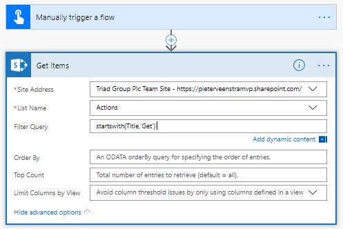 Possitive OData Filter