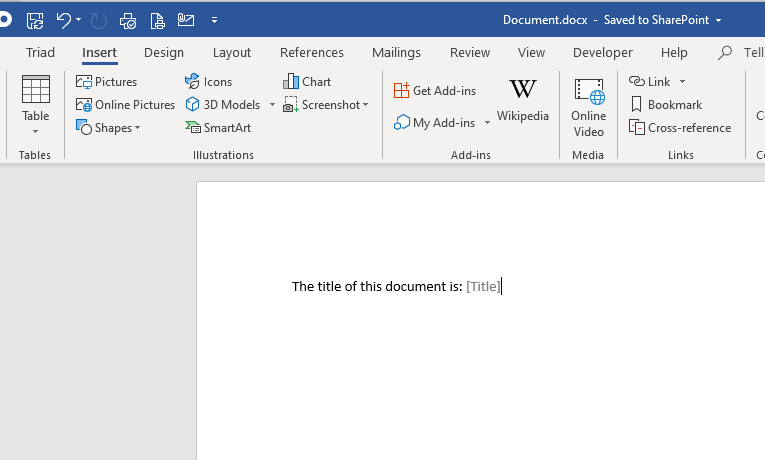 Document Properties in MS Word, 3 major issues?