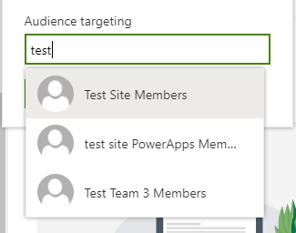 Audience Targeting in SharePoint Online 4