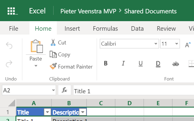 Super Fast Update Excel using Power Automate 2