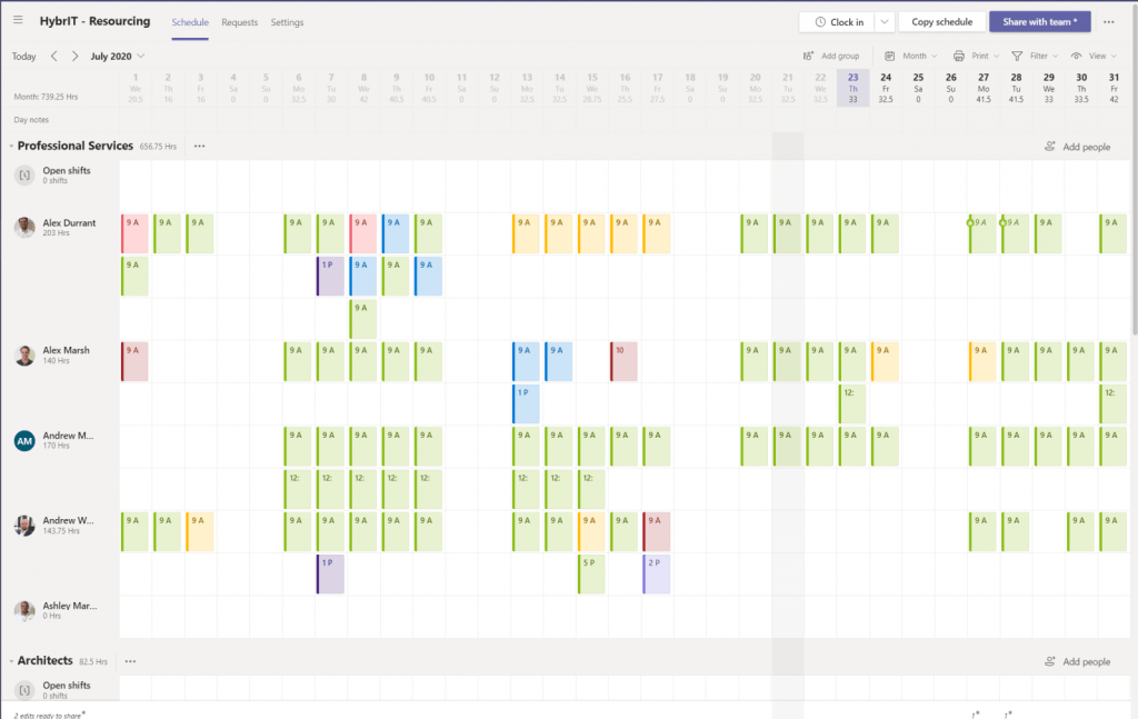 Synchronize Shifts from Microsoft Teams to Outlook Calendars 1
