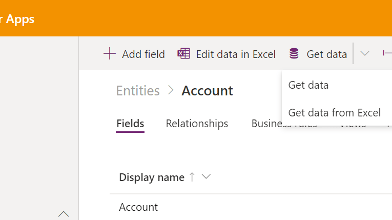 Export data and import it in Dynamics 365