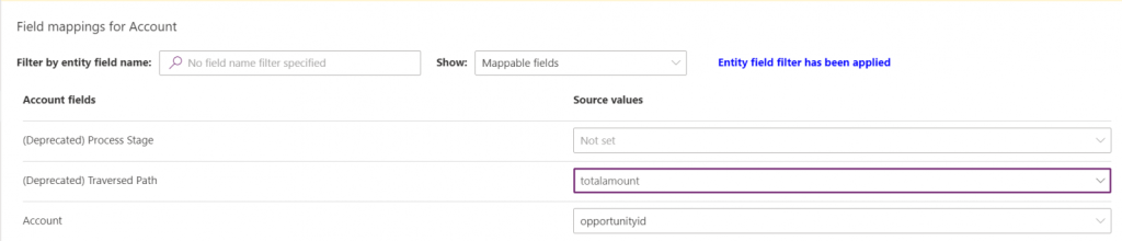 Export data and import it in Dynamics 365 5