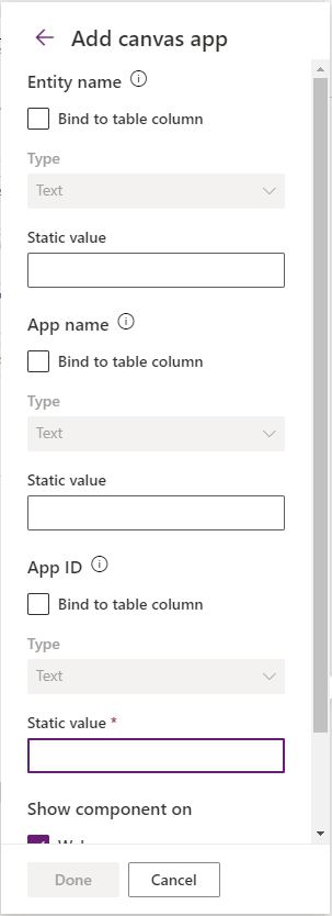 How to embed a canvas app in your model driven app Microsoft Power Apps