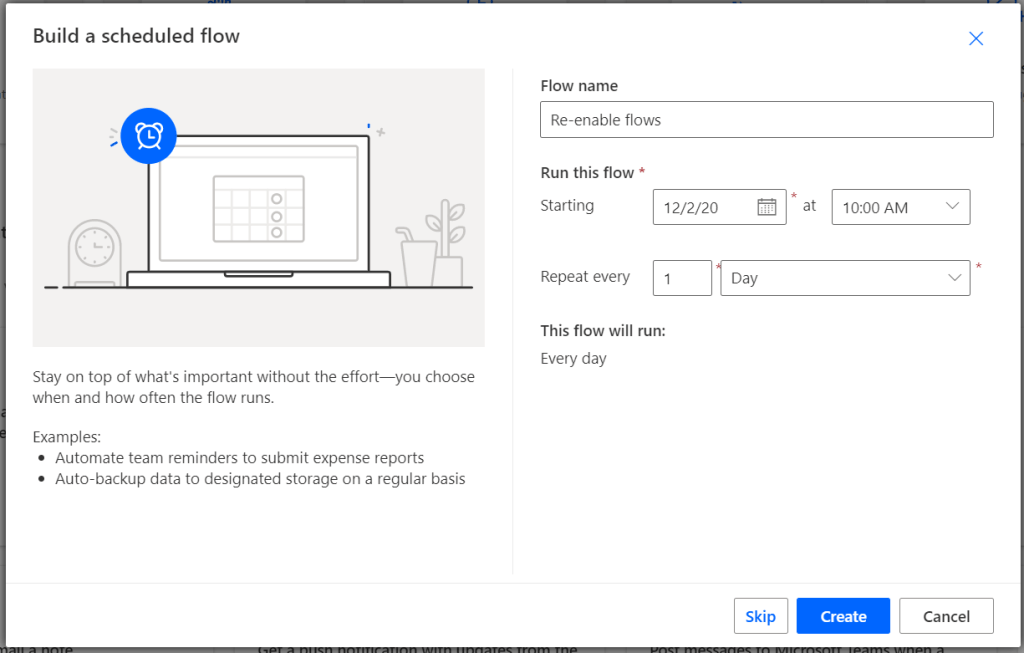Automatically re-enable flows that were suspended in Power Automate Microsoft Power Automate
