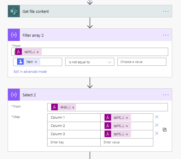 3 steps to read csv files from SharePoint 4