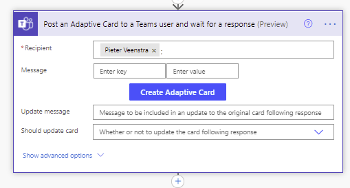 Get started with adaptive cards in Power Automate 3