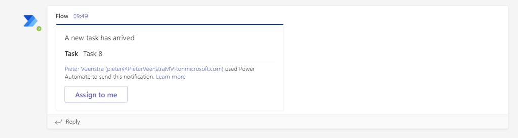 Create Dynamic Adaptive Cards in Teams using Power Automate Microsoft 365