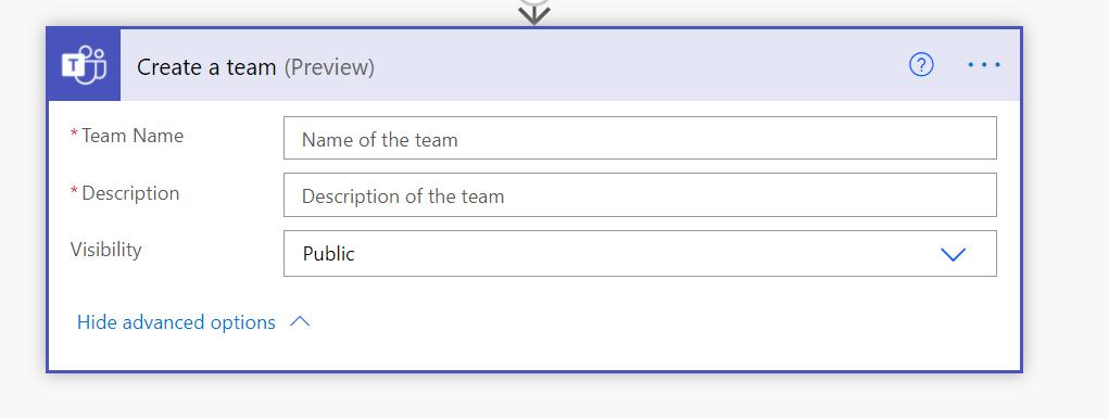 Create a Microsoft Teams team template Microsoft Office 365, Microsoft Power Automate, Microsoft Teams image 9