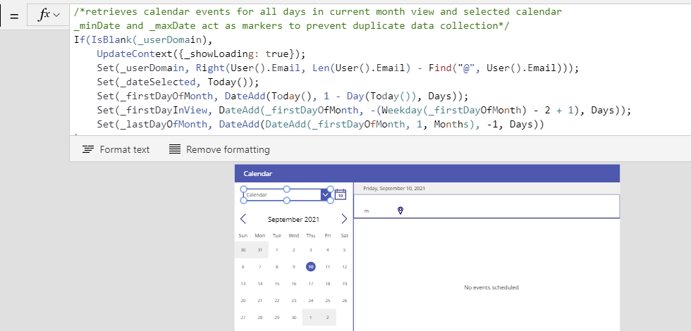 The Weekday and Calendar functions in Power Apps Microsoft Office 365 image 30