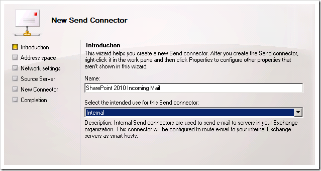 image thumb13 Configuring incoming email in SharePoint 2010 with Exchange   Step by Step Guide