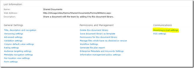 image thumb33 Configuring incoming email in SharePoint 2010 with Exchange   Step by Step Guide