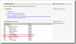 WebDAV Enabled in IIS7