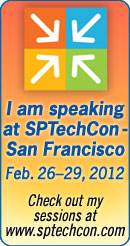 SPTechCon San Francisco 2012 Speaker Badge