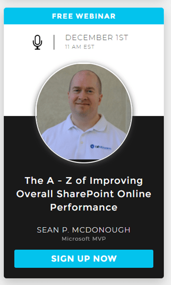 SPO Performance Webinar