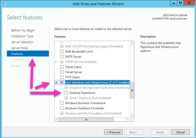 WebDav DeskTop Experienc