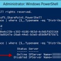 distributed cache ping powershell disabled