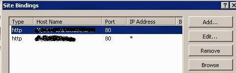 error connecting webservice infopatherror site binding