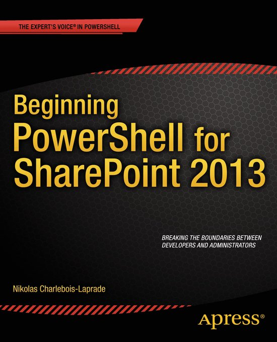 Apress-Beginning-PowerShell-for-SharePoint-2013
