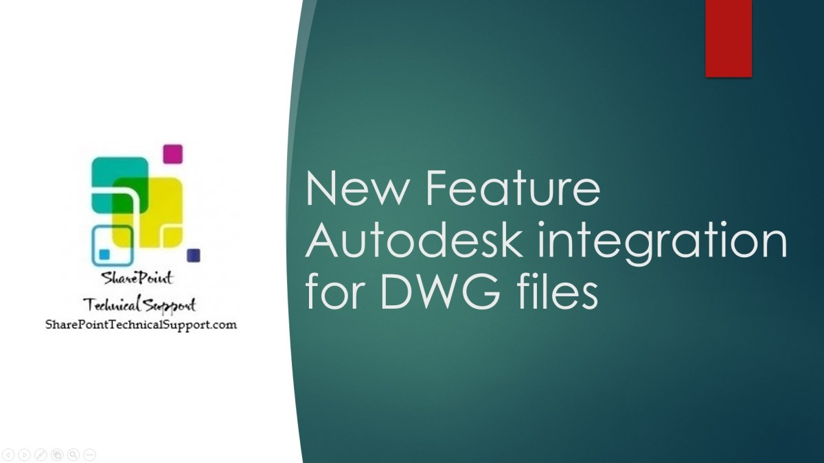 New Feature Autodesk integration for DWG files