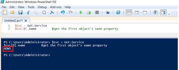 PowerShell object members and variables 2