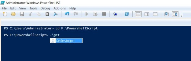 change directory powershell-3