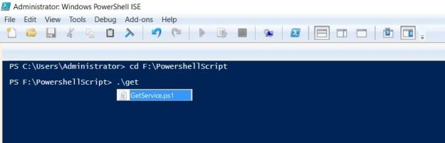 change directory powershell-3
