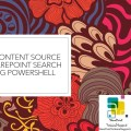Get content source SharePoint Search Using Powershell