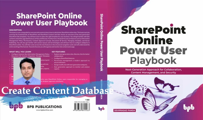 create content database add a content database to web application using powershell sharepoint 2019