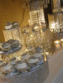 Mirrored cupcake and cake stands are so pretty and are relatively easy to make.