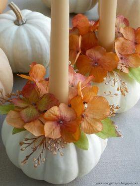 Rustic chic candle (Shopgirlmaria blogspot)