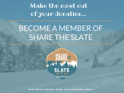 Become a Member of Share the Slate!
