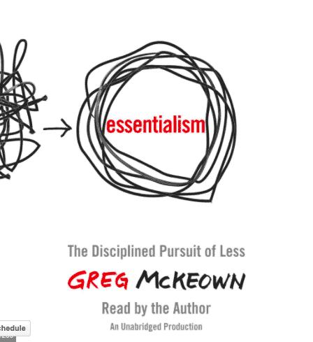 essentialism book