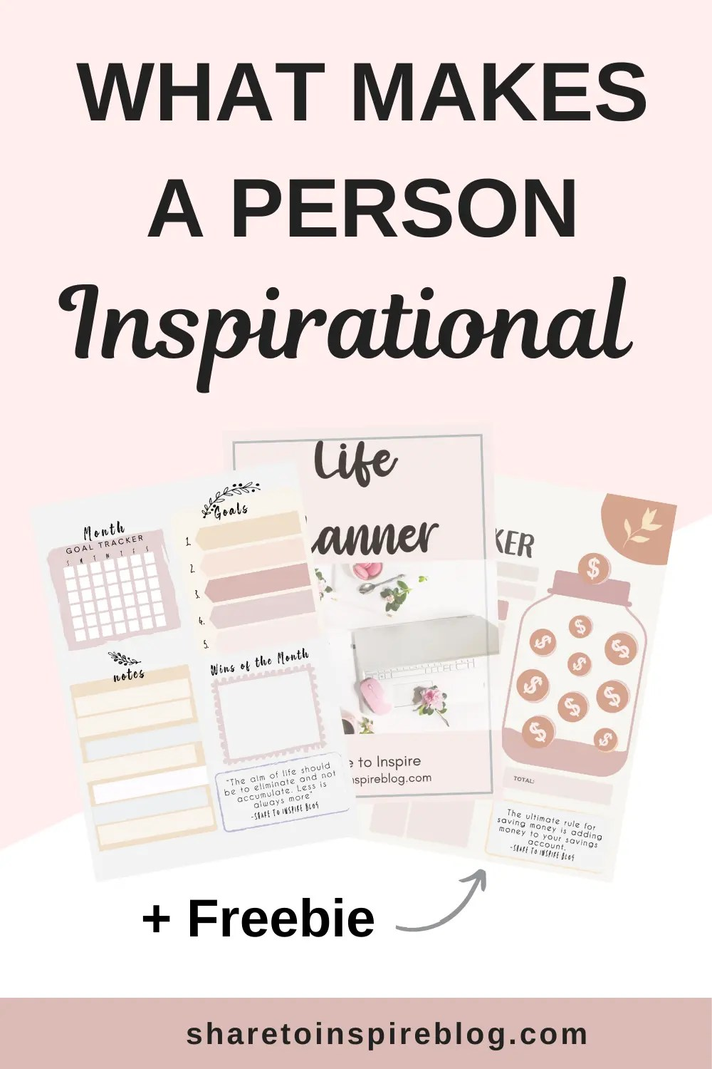 30 qualities of inspirational people Pinterest pin