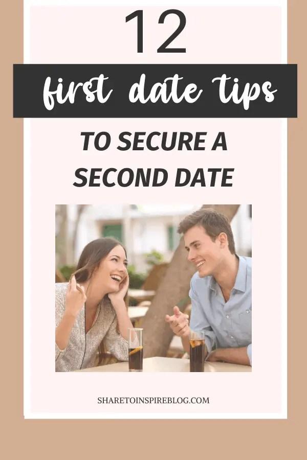 12 first date tips pinterest pin